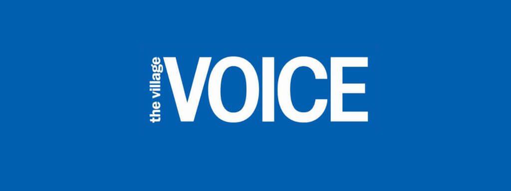 Village Voice logo.