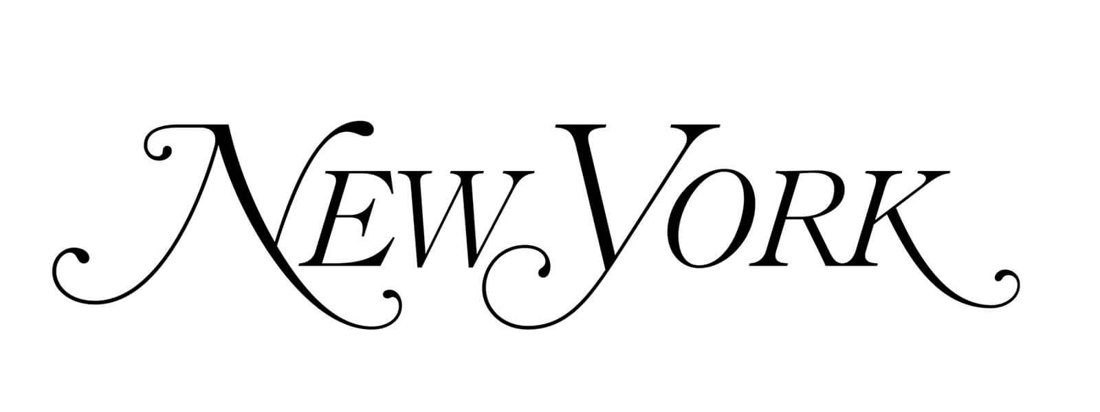 New York Magazine logo.