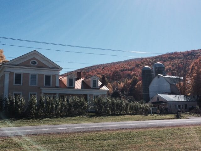 The farmhouse at Straight Out of the Ground Farm.