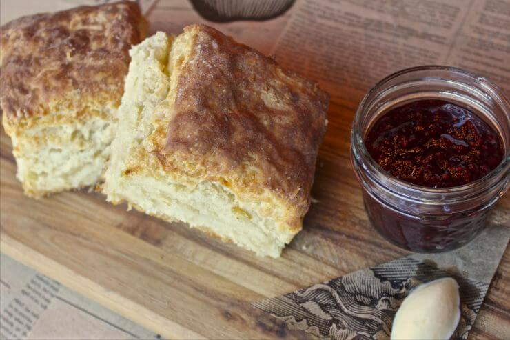 Buttermilk Biscuits and Jam.