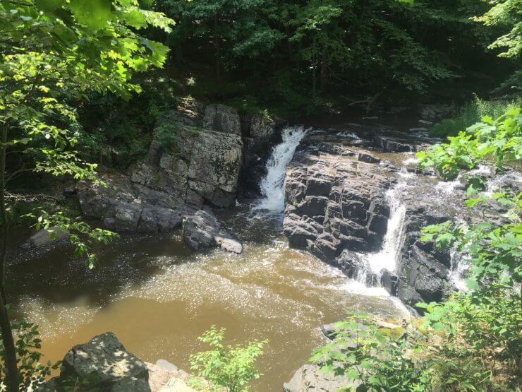 Waterfall in Kingwood.