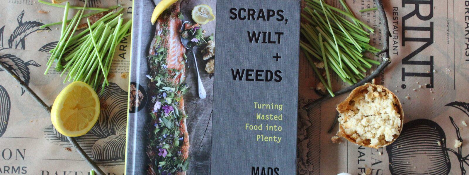 "Book entitled ""Scraps, Wilt & Weeds."""