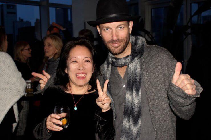 Tama Matsuoka Wong and Mads Refslund.