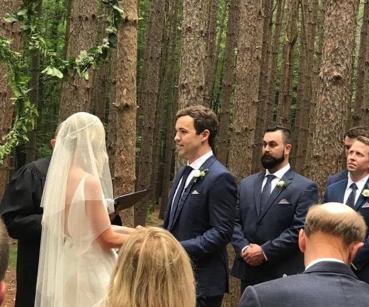 Forager Meghan Boledovich and Jeffrey Grubbs getting married.