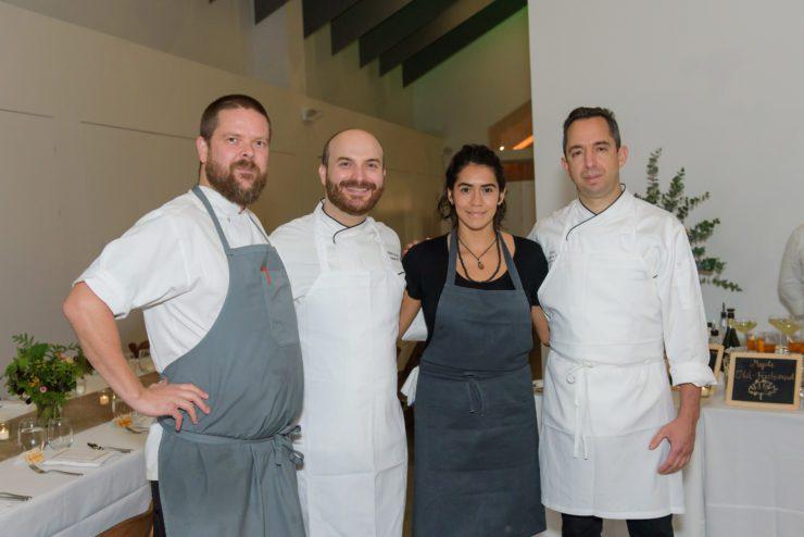 Chefs Charles Rodriguez, Daniela Soto-Innes, Miro Uskokovic, and Gunnar Gislason.