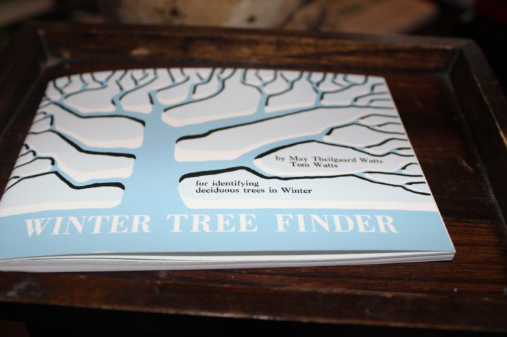 """The book """"Winter Tree Finder."""""""