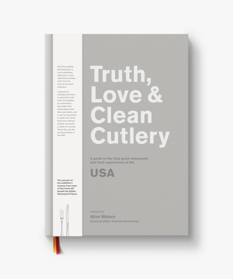 Cover of Truth, Love & Clean Cutlery guide.